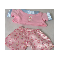"8"" Mini Pink & Blue PJ"