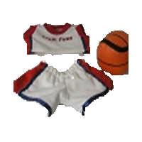 "8"" Mini Basketball Outfit"