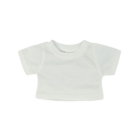 Mini White T-Shirt (8 inch)