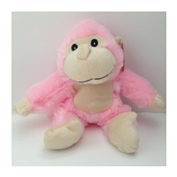 Pre-Stuffed Mini Pink Long-Tailed Monkey