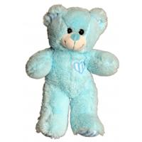 "Cuddles Blue Patches Bear (10"")"