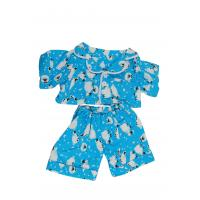 "Cuddles Blue Sheep PJ (16"")"
